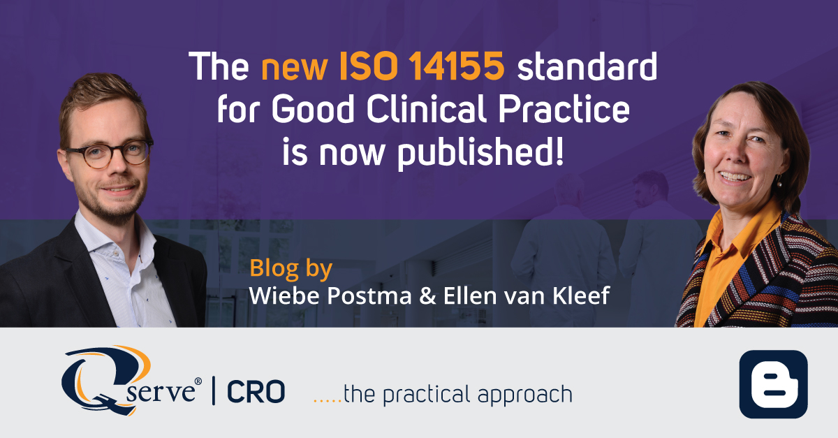 The new ISO14155 standard for Good Clinical Practice is now published!