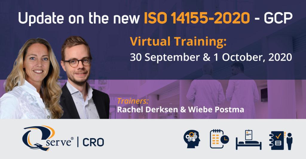 Event CRO 14155 Training 30 sept - 1 oktober
