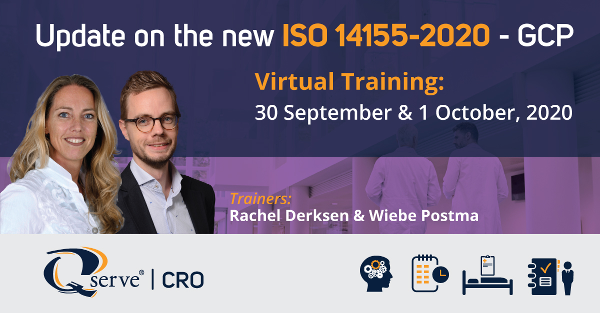 Event CRO 14155 Training 30 sept - 1 oktober