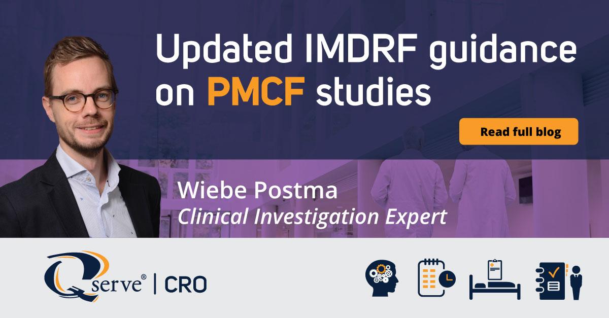 Updated IMDRF guidance PMCF studies